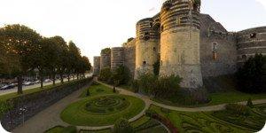 Visite virtuelle 360° château Angers par Showaround