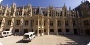 Visite virtuelle hd 360° Rouen Parlement de Normandie par Showaround