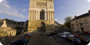 visite virtuelle 360 hd angers cathédrale st maurice par showaround