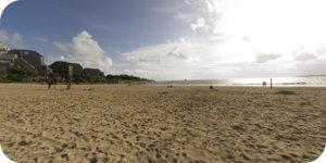 Visite virtuelle 360° hd La Rochelle plage des Minimes par Showaround