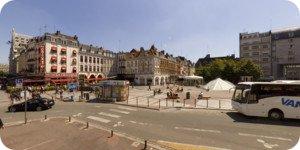 Visite virtuelle 360° haute définition Lille place Rihour par Showaround