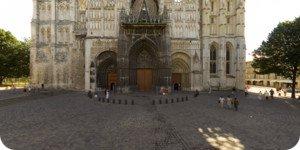 Visite virtuelle 360° haute définition cathédrale Notre Dame de Rouen par Showaround