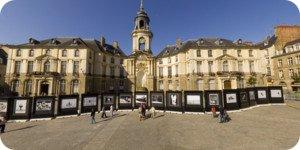 Visite virtuelle 360° haute définition place de la Mairie à Rouen par Showaround
