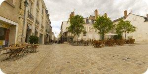 Visite virtuelle 360° haute définition rue de Bourgogne à Orléans par Showaround