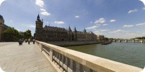 Visite virtuelle 360° haute définition Conciergerie pont au Change à Paris par Showaround
