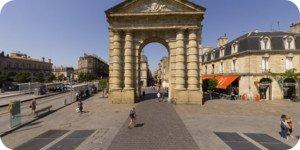 Visite virtuelle 360° haute définition place de la Victoire à Bordeaux par Showaround