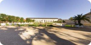 Visite virtuelle 360° haute définition jardins château Chateauneuf sur Loire par Showaround