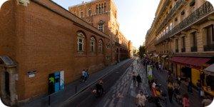 Visite virtuelle 360° haute définition proche musée des Augustins à Toulouse par Showaround