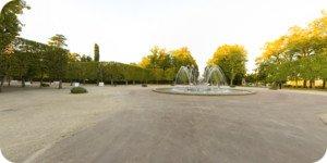 Visite virtuelle 360° haute définition parc de Blossac à Poitiers par Showaround