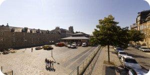Visite virtuelle 360° haute définition place des Lices à Rennes par Showaround