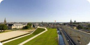 Visite virtuelle 360° haute définition remparts du chateau de Caen par Showaround
