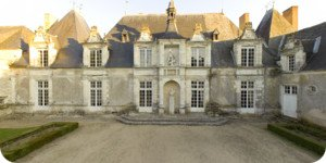 Visite virtuelle 360° haute définition cour du chateau de Villesavin par Showaround