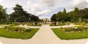 Visite virtuelle 360° flash haute définition du parc Pasteur à Orléans par Showaround