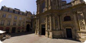 Visite virtuelle 360° de la cathédrale de Notre-Dame à Bordeaux en haute définition France