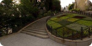 Visite virtuelle 360° flash haute définition de l'escalier Denis Papin à Blois par Showaround