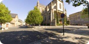 Visite virtuelle 360° flash haute définition place Saint-Anne à Rennes par Showaround
