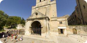 Visite virtuelle 360° flash haute définition de l'église Notre Dame des Doms à Avignon par Showaround