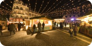 Visite virtuelle 360° flash haute définition du marché de Noël à Orléans par Showaround
