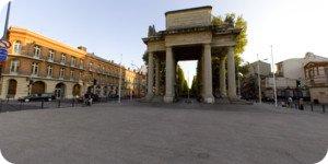 Visite virtuelle 360° flash haute définition des allées François-Verdier à Toulouse par Showaround