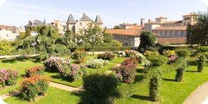 Visite virtuelle 360° flash HD de la roseraie du Parc Thabor à Rennes par Showaround