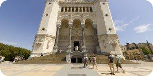 Visite virtuelle 360° flash haute définition basilique Notre-Dame de Fourvière à Lyon par Showaround