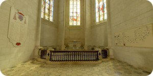 Visite virtuelle 360° flash haute définition de la Chapelle du Château de la Rochefoucauld par Showaround