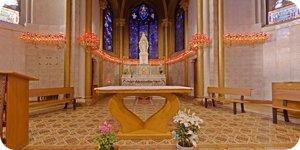 Visite virtuelle 360° flash haute définition de la Chapelle Vierge d'Issoudun par Showaround