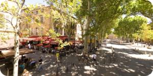 Visite virtuelle 360° flash HD Cours Mirabeau à Aix en Provence par Showaround