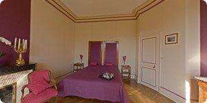 Visite virtuelle chambre chateau la Touanne