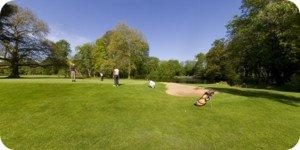 vue 360° du golf de Donnery