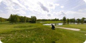 vue 360° du golf de Limere