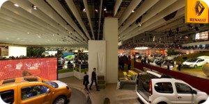 Visite virtuelle Mondial Auto Paris 2008 par Showaround